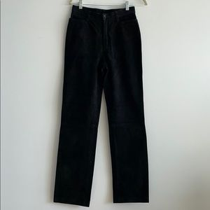 Vintage Suede Leather Pants Size 8